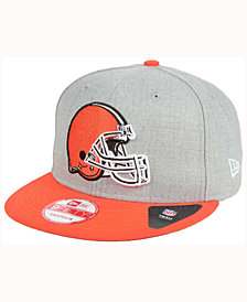 New Era Cleveland Browns Heather 2 Tone 9FIFTY Snapback Cap