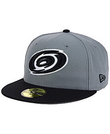 New Era Carolina Hurricanes Gray Black 59FIFTY Cap