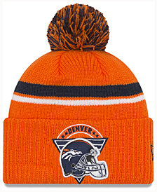 New Era Denver Broncos Diamond Stacker Knit Hat