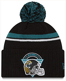 New Era Jacksonville Jaguars Diamond Stacker Knit Hat
