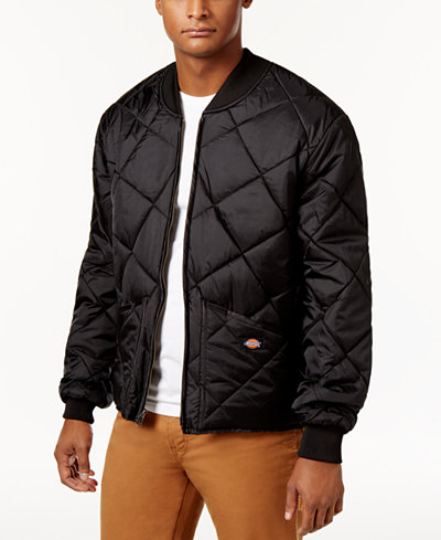 Dickies Men's Quilted Bomber Jacket - Coats & Jackets - Men - Macy's : quilted bomber jacket men - Adamdwight.com