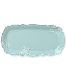 Lenox Butterfly Meadow Carved Collection Hors d'Oeuvre Tray