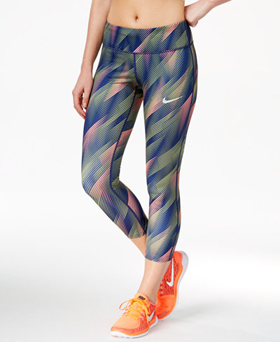 Nike Power Epic Run Printed Capri Leggings