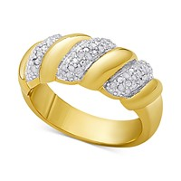 Victoria Townsend Diamond San Marco Ring (1/4 ct. t.w.) in Sterling Silver