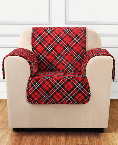 CLOSEOUT! Sure Fit Holiday Motifs Quilted Chair Slipcover