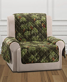 CLOSEOUT! Sure Fit Holiday Motifs Quilted Recliner Slipcover