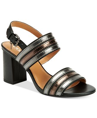 COACH Princeton Block-Heel Dress Sandals