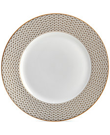 Waterford Lismore Diamond Gold Collection Salad Plate