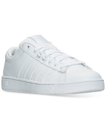 2017 In Line KSwiss Hoke CMF Memory Foam Sneaker WhiteWhite Leather