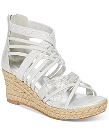 Kenneth Cole Reed Stretch Wedge Sandals, Little Girls & Big Girls
