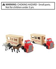Melissa & Doug Kids Toy, Horse Carrier