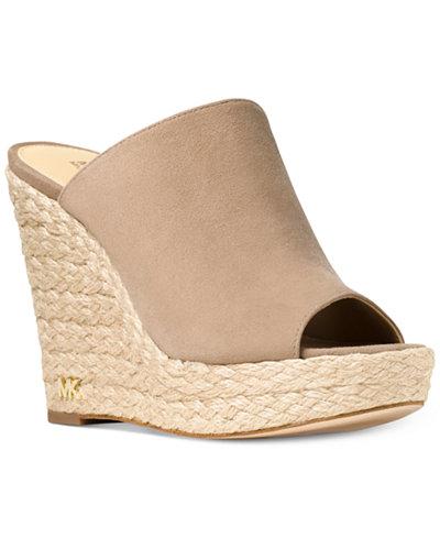 MICHAEL Michael Kors Hastings Slide Sandals - MICHAEL Michael Kors Hastings Slide Sandals - Shoes - Macy's