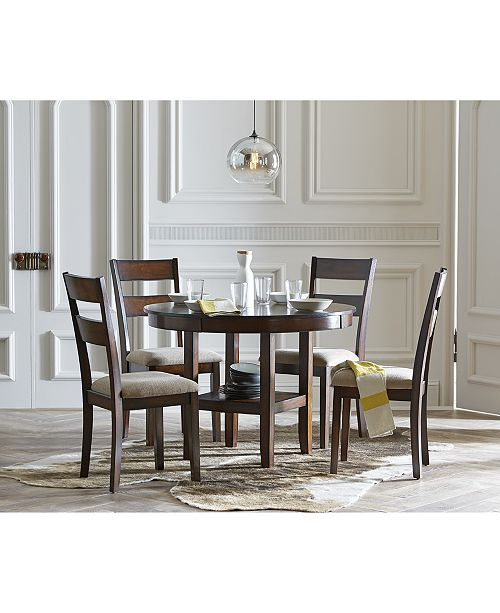 Branton Round Dining Table Furniture CLOSEOUT