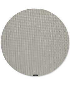 """Chilewich Mini Basketweave 15"""" Round Placemat"""
