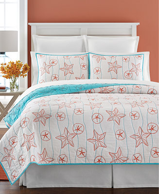 Closeout Martha Stewart Collection Sea Star Reversible