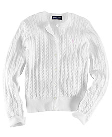 Ralph Lauren Little Girls Cable Cardigan