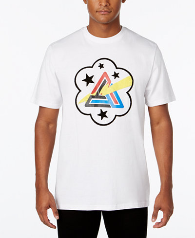 Black Pyramid Men's Bolt Graphic-Print T-Shirt