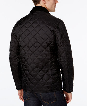 Barbour Mens Diamond Quilted Bomber Jacket Coats Jackets Men