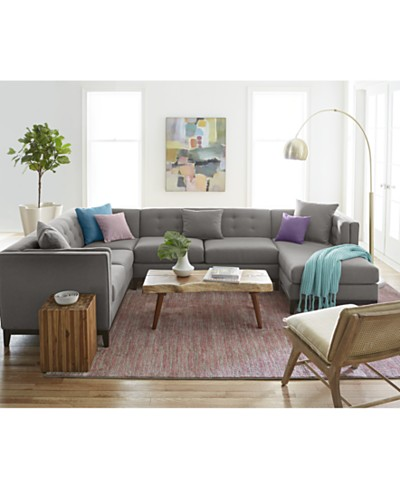 Braylei Sectional Collection, Created for Macy's