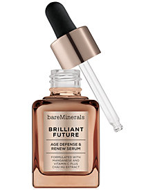 bareMinerals CORRECTIVES™ BRILLIANT FUTURE™ Age Defense & Renew Serum, 1 oz