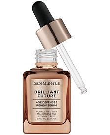 bareMinerals CORRECTIVES™ BRILLIANT FUTURE™ Age Defense & Renew Serum, 1 oz