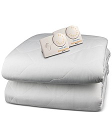 Quilted Heated Queen Mattress Pad