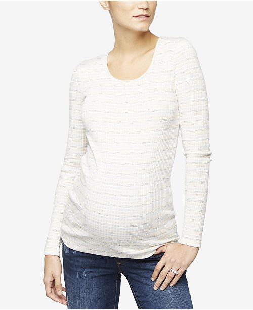 A Pea in the Pod Maternity Printed Top