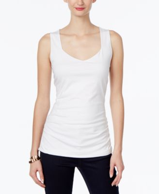 Image of INC International Concepts Ruched Tank Top, Only at Macy's