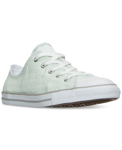 eef880b72dd1 ... Converse Women s Chuck Taylor Dainty Lace Casual Sneakers from Finish  ...