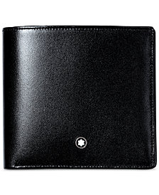 Montblanc Men's Black Leather Meisterstück Wallet 7163