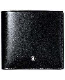 Montblanc Men's Black Leather Meisterstück Wallet 7163