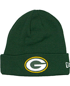 New Era Green Bay Packers Basic Cuff Knit Hat