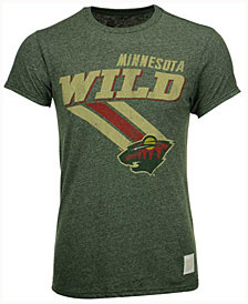 Retro Brand Men's Minnesota Wild Mock Twist III T-Shirt