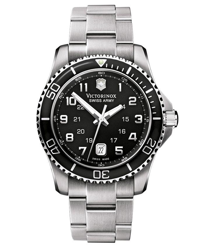 Victorinox Swiss Army - Watch, Men's Maverick GS Stainless Steel Bracelet 241436