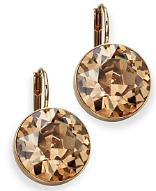 Swarovski Earrings, Bella Yellow Crystal Drops