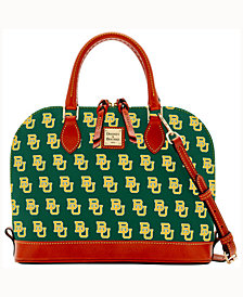 Dooney & Bourke Baylor Bears Zip-Zip Satchel