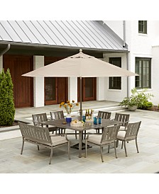 Wayland Outdoor Dining Collection, with Sunbrella® Cushions, Created for Macy's