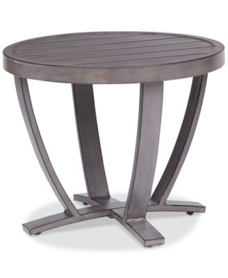 wayland outdoor end table