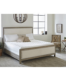 Nature's Spa by Paramount Oasis Latex 13'' Firm Mattress Set- Twin XL