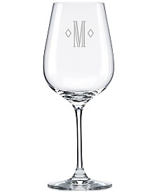 Lenox Tuscany Federal Monogram 4-Pc. Pinot Grigio Wine Glass Set