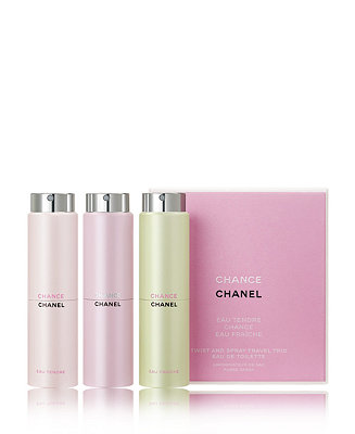 CHANEL 3-Pc. CHANCE Twist And Spray Gift Set - All Perfume - Beauty - Macy s 11e1625e10