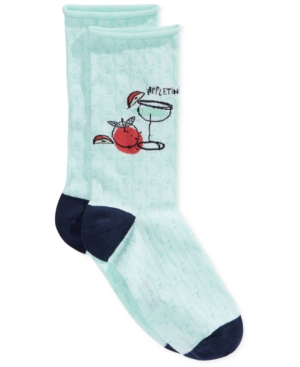 Hue Women's Appletini Socks