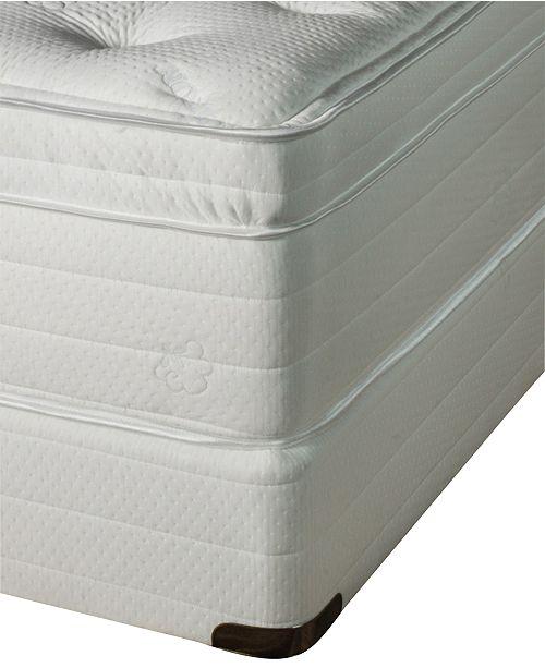 cheap for discount ce1e4 43937 Jazmine Latex 17'' Ultra Plush Euro Pillow Top Mattress Set- Queen