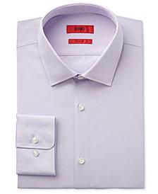 HUGO Men's Slim-Fit/Sharp-Fit Solid Dress Shirt