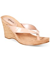 e74846f8a Style   Co Chicklet Wedge Thong Sandals