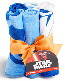 Jay Franco Star Wars 6-Pc. Washcloth Set