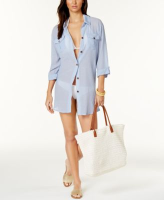 Image of Dotti Shirtdress Cover-Up