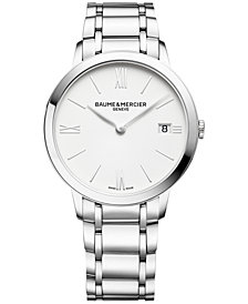 Baume & Mercier Women's Swiss Classima Stainless Steel Bracelet Watch 36mm M0A10356