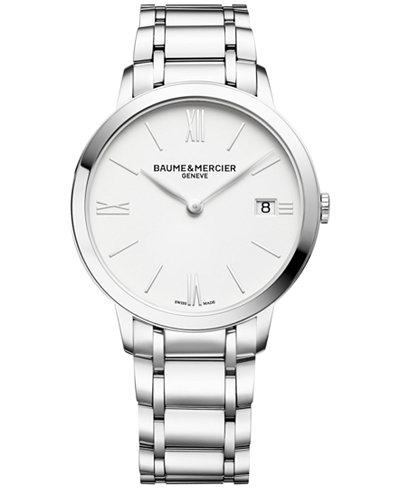 Baume & Mercier Women's Swiss Classima Stainless Steel Bracelet Watch 36mm M0A10356