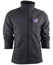 Columbia Men's Kansas Jayhawks Ascender Softshell Jacket